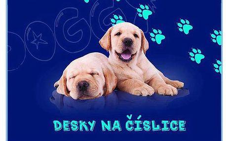 Karton PP Desky na číslice - Pes