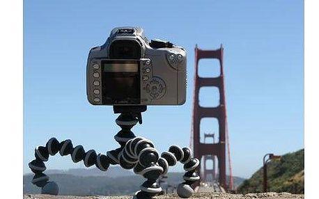 Nastavitelný stojánek pro digitální fotoaparáty a tablety