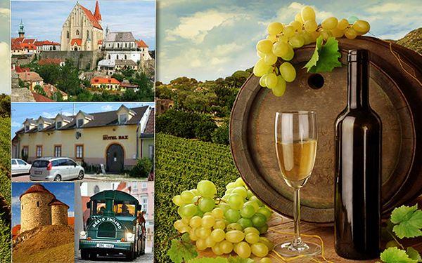 Romantika pro dva ve vinařském království s platností do února 2015