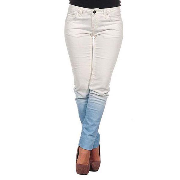 Dámské krémovo-modré džíny Calvin Klein