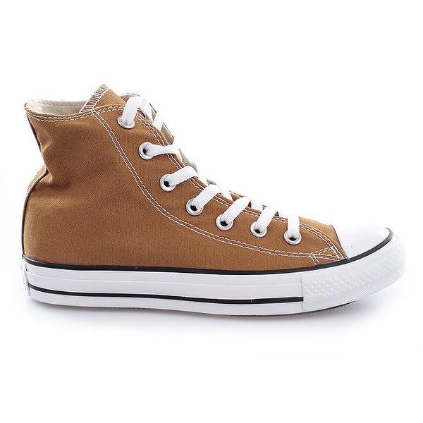 Světle hnědé kotníkové tenisky Converse