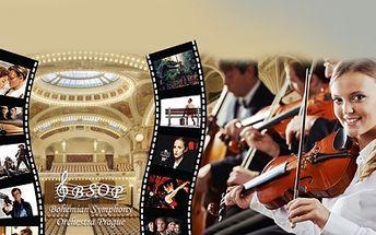 Přijďte si vychutnat nádherné filmové melodie do nejprestižnějšího koncertního sálu - Smetanovy Síně Obecního domu v Praze v podání Bohemian Symphony Orchestra Prague! The Best From Hollywood Movie Music od 349 Kč!