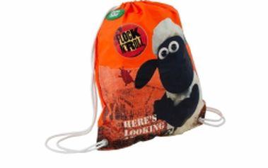 Ovečka Shaun - sáček na cvičky nebo přezůvky