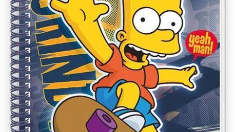 Blok A4 spirálový 80 listů linkovaný - Bart