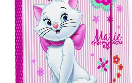 Karton PP Desky na sešity s boxem A5- Kočka Marie