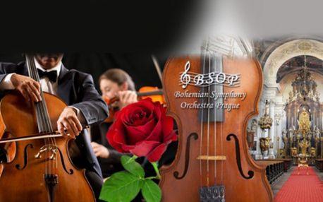 ROMANTICKÝ KONCERT v Katedrále Sv. Klimenta za 179 Kč! Přijďte si užít krásný hudební zážitek v podání Bohemian Symphony Orchestra Prague v komorním obsazení! V 65 min. zazní Bach, Mozart, Smetana, Dvořák, Schubert a další!