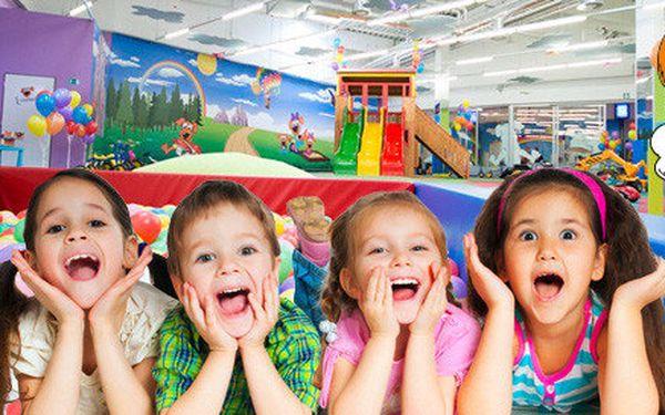 Celodenní vstup do dětského centra Hafíkov
