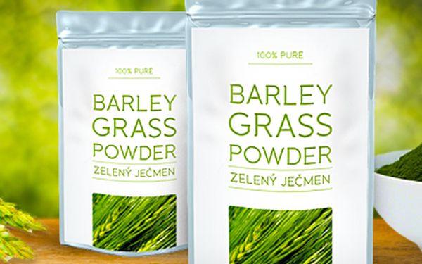 Zlevněno! Kvalitní zelený ječmen 200g: přírodní všelék pro pevné zdraví, bez nežádoucích účinků.