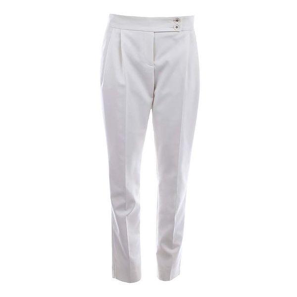 Dámské krémové kalhoty s puky Pietro Filipi