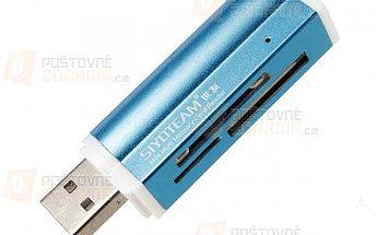 Univerzální USB čtečka paměťových karet - 4 barevná provedení a poštovné ZDARMA! - 25010493