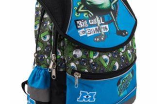 W. Disney Příšerky Boys - školní batoh, ergonomický velký