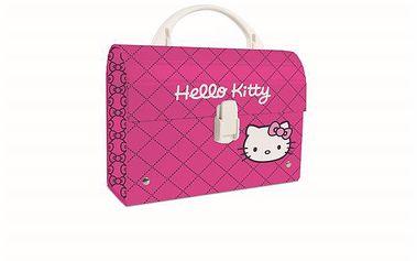 Karton PP Dětský kufřík MINI - Hello Kitty