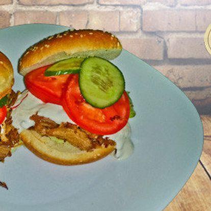 4× Gyros burger s rozvozem přes DameJidlo.cz