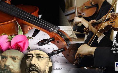 Romantické koncerty v katedrále Sv. Klimenta v Praze! Mozart, Dvořák, Smetana a mnoho dalších! Užijte si překrásný hudební zážitek v podání Bohemian Symphony Orchestra Prague. Na výběr mnoho termínů v srpnu, září i říjnu!