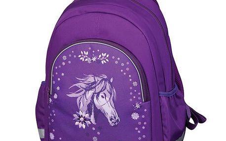 Předškolní batůžek - Glitter kůň