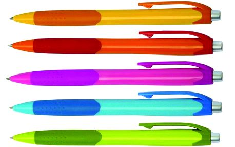 Kuličkové pero Fruity 0,5 mm - mix barev