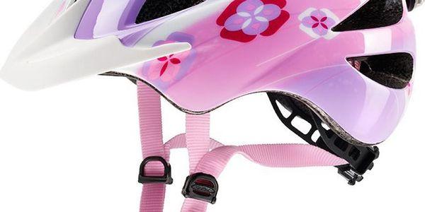 UVEX Hero rose 2015 dětská cyklistická přilba se světlem