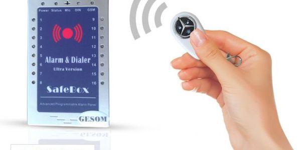 Bezdrátový GSM alarm – záruka 3 roky