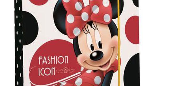 Karton PP Desky na sešity s boxem A5 - Minnie