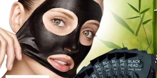 Korejská černá maska pro čistou pleť