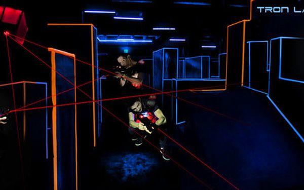 2x 15 minut Laser Game v nejmodernější Laser Aréně