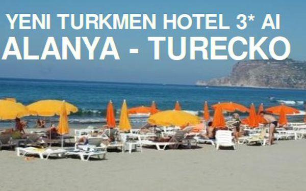 Last Minute Turecko, 8 dní s All Inclusive, 3* Hotel Yeni Turkmen za 11 990 Kč! Stačí zaplatit 90 Kč za prebooking.
