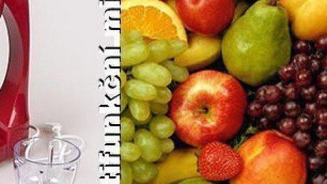 Multifunkční mixér!Fantastický pomocník na přípravu a výrobu pravého smoothie, 100% ovocných a zeleninových šťáv a pyré. Lahodné drinky připravíte jednoduše během pár vteřin.