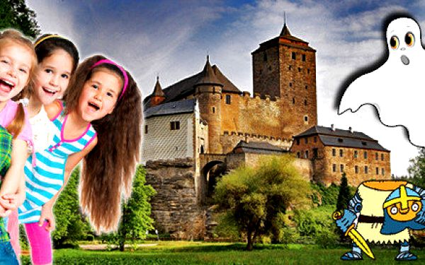 Za strašidly na hrad Kost