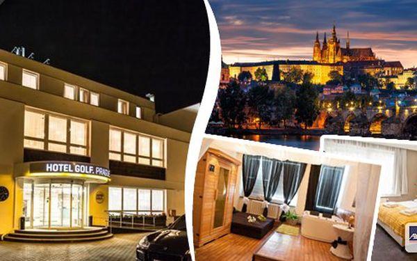 Třídenní pobyt ve stověžaté Praze pro 2 osoby s nabitým programem s neuvěřitelnou slevou. Luxusní pobyt v Hotelu Golf v pokojích Superior**** včetně 10 regeneračních, relaxačních a hubnoucích procedur. Večer speciality šéfkuchaře!!!