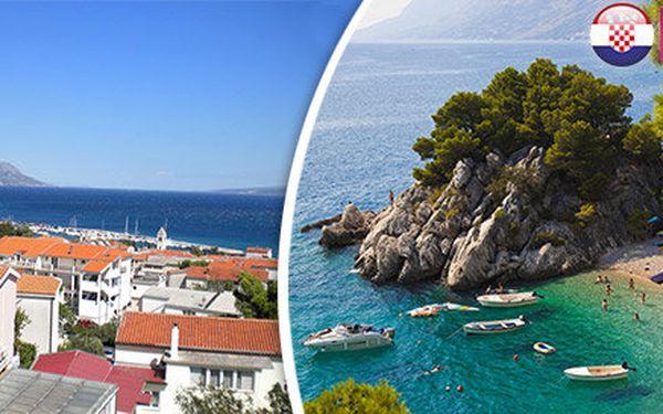 Zájezd do Chorvatska včetně dopravy a polopenze