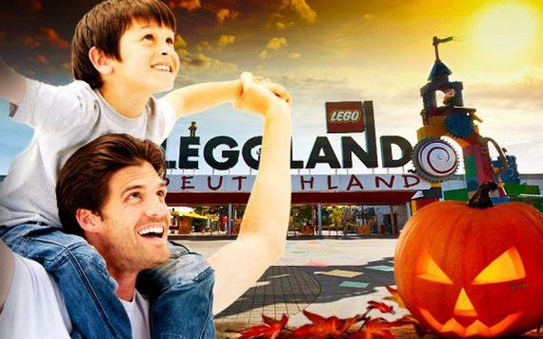 Zájezd do Legolandu na Halloweenský den
