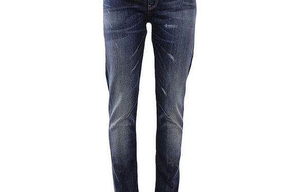Dámské modré džíny s drobnými prodřeninami Big Star