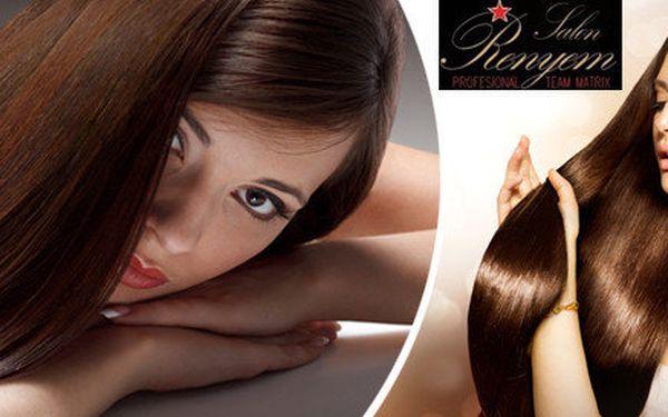 Prodloužení, promelirování nebo zahuštění vlasů, výběr pravých vlasů, melíru či barvy + střih dle vlastní volby