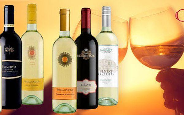 6 vín z Itálie – Chianti, Bardolino a další