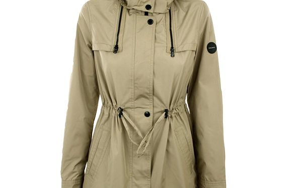 Dámská bunda s kapucí a stahováním v pase Halifax