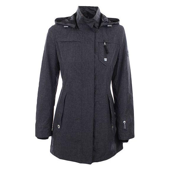 Dámská tmavě šedá bunda se stojáčkem Halifax