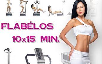 PERMANENTKA na 10x 15 minut cvičení na vibrační plošině FLABéLOS! 15 min. cvičení Flabélos nahradí 1 nonstop hodinu tréninku v posilovně! Profesionální centrum Prolinebody v centru Brna!!!