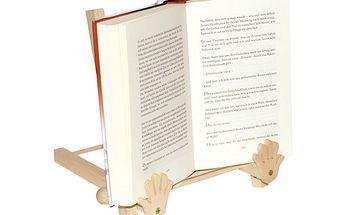 Dřevěný stojan na knihu