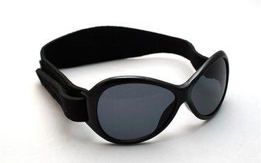 Kidz Banz Retro - dětské sluneční brýle Black -2-5 let