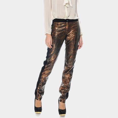 Dámské bronzové kalhoty ODM Fashion
