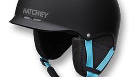 HATCHEY Lyžařská helma SKILL Black S (53-56 cm)