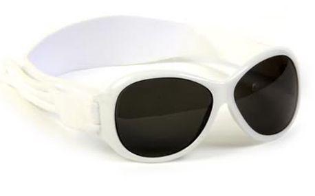 Kidz Banz Retro - dětské sluneční brýle White -2-5 let