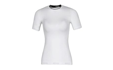 HUSKY EB seamless short sleeve bílá vel. S-M