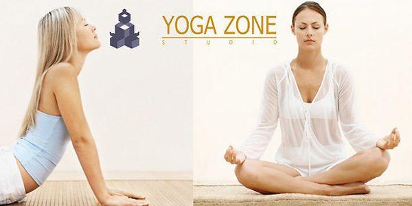 10 vybraných lekcí ve studiu Yogazone