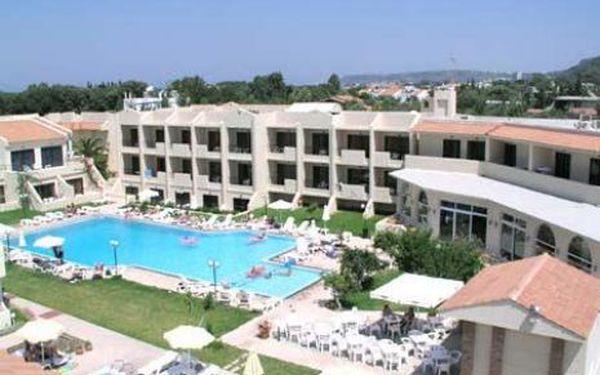 Řecko, oblast Rhodos, letecky, bez stravy, ubytování v 3* hotelu na 15 dní