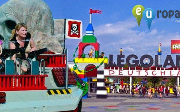 Výlet do Německého Legolandu včetně vstupu