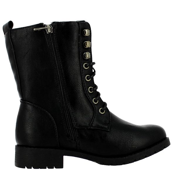Dámské černé šněrovaní boty Shoes and the City