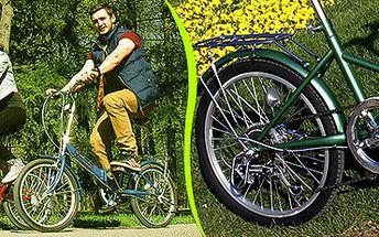 Skládací kolo s odlehčeným rámem: skvělé do města i do přírody!