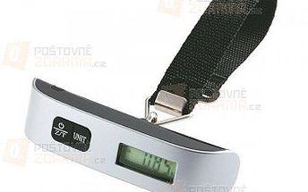 Cestovní váha na zavazadla s LCD displejem a popruhem a poštovné ZDARMA! - 25110389