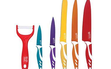 6 dílná sada nožů s keramickým povrchem